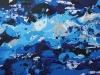 27_Blauer Akt | 2009 | 75x157 cm