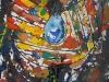 30_Die mit Tränen säen ... | 2009 | 100x100 cm