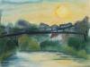 107_Hängebrücke über der Mulde | 1994