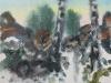056_Landschaft mit Eisblumen I | 1998