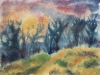 057_Landschaft mit Eisblumen II  | 1997